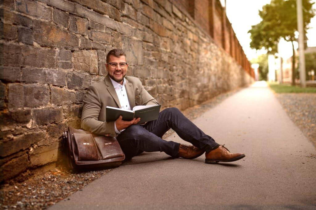 Tobias Wolf, Business Portrait, Fotograf Plauen